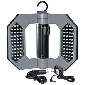 Click to buy LED Outdoor Lighting: Cooper Lighting 80 LED Rechargeable Folding Worklight from Amazon!