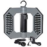 Might-D-Light LED130, LED Rechargeable Gray Folding Worklight ~ Cooper Lighting