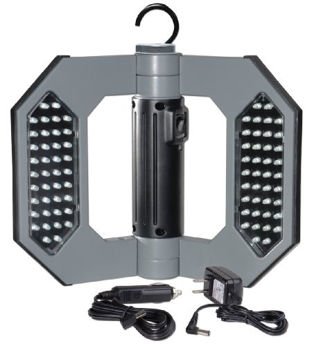 Might-D-Light Led130, Led Rechargeable Gray Folding Worklight