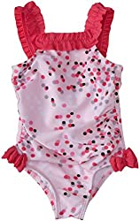 Absorba Baby Girls' Dots Print Swimsuit (Baby) - Dot