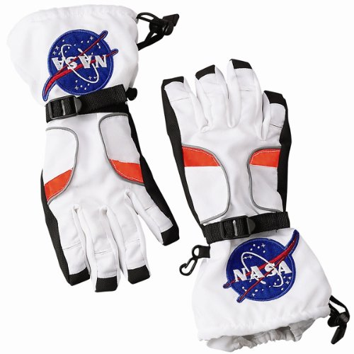 Jr. Astronaut Space Costume Gloves - Medium