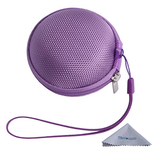 Dedeciated Colorful Replacement Protective Carrying Case/Bag/Pocket Save/Holder For Bose Ie2 Mie2 Mie2I Sie2 Sie2I Ie1 Mie1 In-Ear Fit Headphones Mobile Sport Headset (Purple)