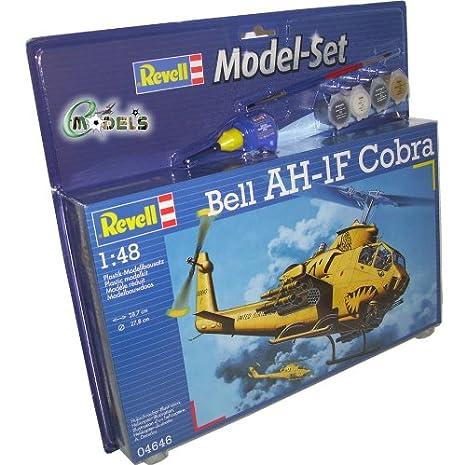 Revell - 64646 - Maquette - Model Set - AH-1F Cobra