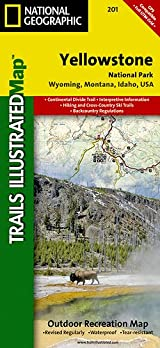 TI Map #201- Yellowstone National Park
