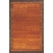 "Momeni Rugs DEGABDG-01PAP7696 Desert Gabbeh Collection, 100% Wool Hand Knotted Contemporary Area Rug, 76"" x 96"", Paprika"