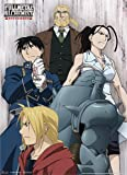 Great Eastern Entertainment Fullmetal Alchemist Brotherhood Elric Brothers, Honeheim, Roy and Izumi Wall Scroll, 33 by 44-Inch