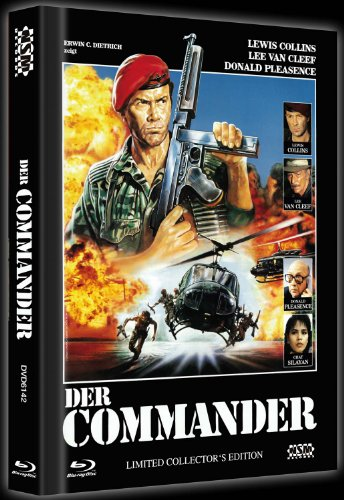 Der Commander - Uncut [Blu-ray+ DVD] Mediabook limitiert auf 1000 Stück [Limited Collector's Edition] [Limited Edition]