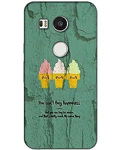 LG Nexus 5X back cover Designer High Quality Premium Matte Finish 3D Case