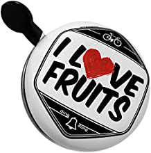 Bicycle Bell I Love Fruits by NEONBLOND