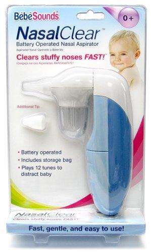Bébésounds Nasal Clear Battery Operated Nasal Aspirator