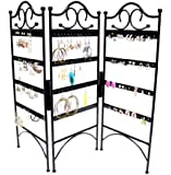 Mango Steam 3-Panel Jewelry Organizer for Hanging Earrings