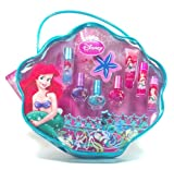 Disney Princess Ariel Little Mermaid Magical Dreams Make-Up Kit - 24 Piece and Carrier