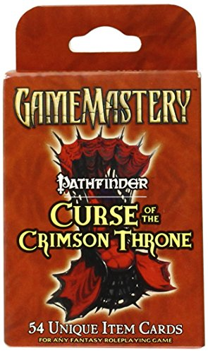 Pathfinder Chronicles Item Cards: Curse Of The Crimson Throne Deck