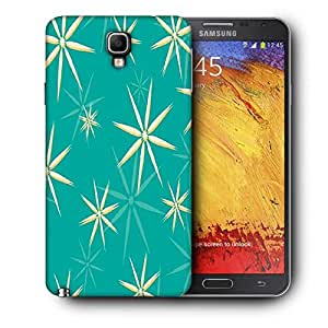Snoogg Green Pattern Printed Protective Phone Back Case Cover For Samsung Galaxy NOTE 3 NEO / Note III