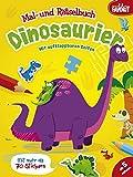 Dinosaurier: Mal- und Rätselbuch