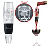 Mini Wine Aerator Decanter with Flywheel - Innovative Design by USex Sense with Elegant Gift Box - Great Wine Accessories Gift - Patented Design Flywheel - Better Tasting Wine