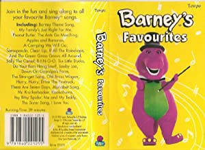 barney s favourites spoken word amazon co uk