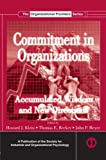 Commitment in Organizations (SIOP Organizational Frontiers)
