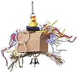 Super Bird Creations Mini Pirate Treasure Bird Toy