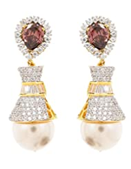 Akshim Multicolour Alloy Earrings For Women - B00NPYAITG