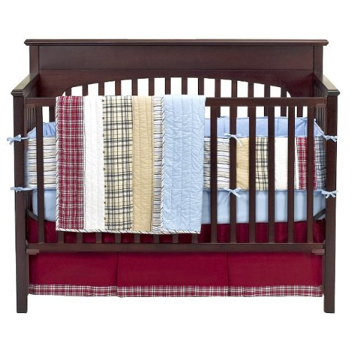 Boys Plaid Bedding 6474 front