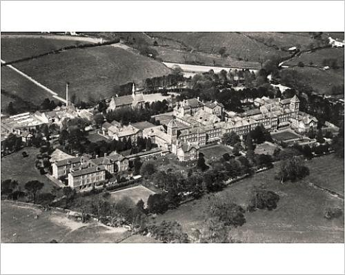 Photographic Print Of Joint Counties Asylum, Carmarthen, Wales