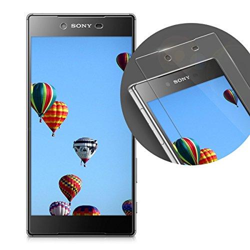 kalibri-Echtglas-Displayschutzfolie-fr-Sony-Xperia-Z5-Premium-02-mm-Glas-mit-9H-Hrtegrad-Schutzfolie-Panzerglas-Schutzglas-Glasfolie-in-kristallklar