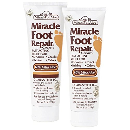 2-Pack Miracle Foot Repair Cream 8 oz (Miracle Hand Cream compare prices)
