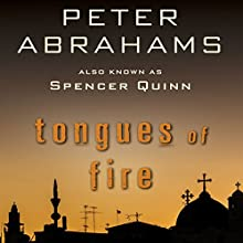 Tongues of Fire (       UNABRIDGED) by Peter Abrahams Narrated by P. J. Ochlan