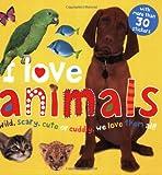I Love Animals Sticker Book