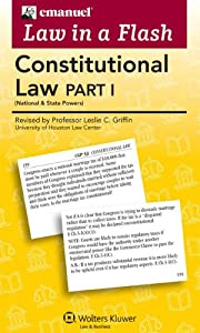 Law in a Flash Cards: Constitutional Law I ebook