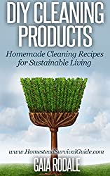 DIY Cleaning Products: Homemade Cleaning Recipes for Sustainable Living (Sustainable Living & Homestead Survival Series) (English Edition)