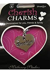 A Personal Name Charm Bracelet/necklace/keychain: Brooklyn