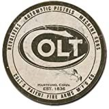 Colt - Round Logo Tin Sign , 11x11