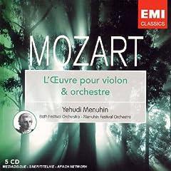 Mozart Concertos pour violon 514Y1221P9L._SS240_