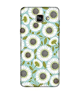 Chnno 3d pattern Printed Back Cover For Samsung Galaxy A5 (2016)