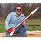 Public Missiles PML Flying Model Rocket Kit Black Brant VB