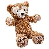 "Disney Parks Exclusive Duffy Teddy Bear 17"" Large Plush Doll"