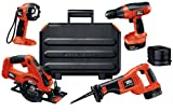 Black & Decker FSC414K-2 14.4-Volt FireStorm 4-Tool Combo Kit