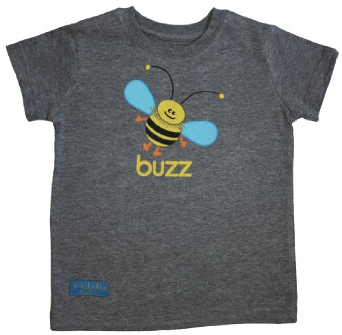 Buzz T-Shirt - Heather Grey (Size 5T )