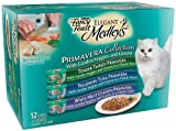 Fancy Feast Elegant Medleys for Cats, Primavera Collection,  12 Count, 3 Ounce Cans (Pack of 2)