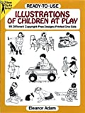 img - for Ready-to-Use Illustrations of Children at Play: 95 Different Copyright-Free Designs Printed One Side (Dover Clip-Art Series) book / textbook / text book