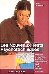 Les  nouveaux tests psychotechniques