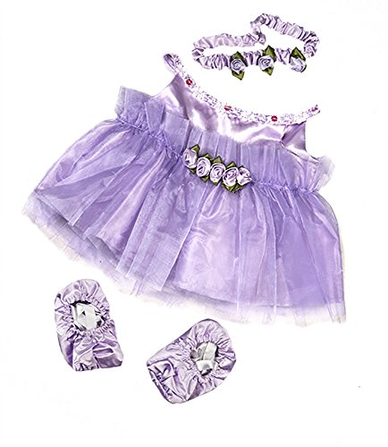 Lavender-Ballerina-Teddy-Bear-Clothes-Outfit-Fits-Most-14-18-Build-a-bear-Vermont-Teddy-Bears-and-Make-Your-Own-Stuffed-Animals