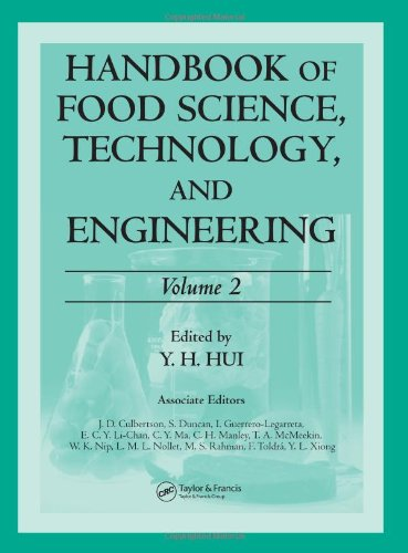 Handbook of Food Science Technology and Engineering