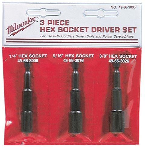 Milwaukee 49-66-3005 Hex Socket Set