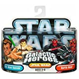 Star Wars Galactic Heroes Obi Wan and Darth 2 pack