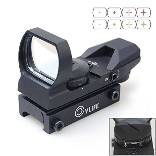 CVLIFE 1X22X33 Red Green Dot Laser Sight Scope