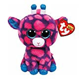 Claires Girls and Womens Beanie Boos Small Sky High The Giraffe Soft Toy in Pink