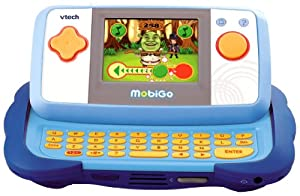 Vtech 115805 Console Mobigo + Jeu Shrek 4: Jeux et